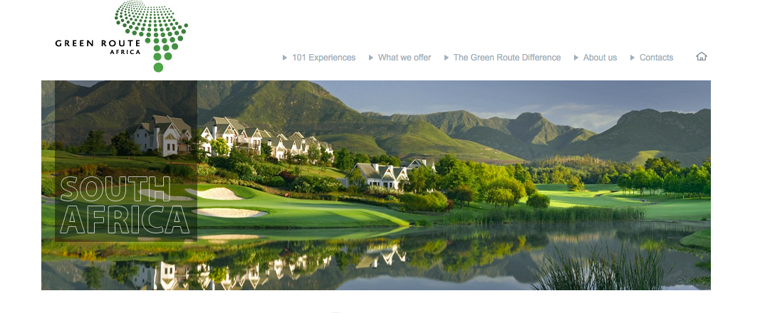 Michelle Bondesio Projects - Green Route website