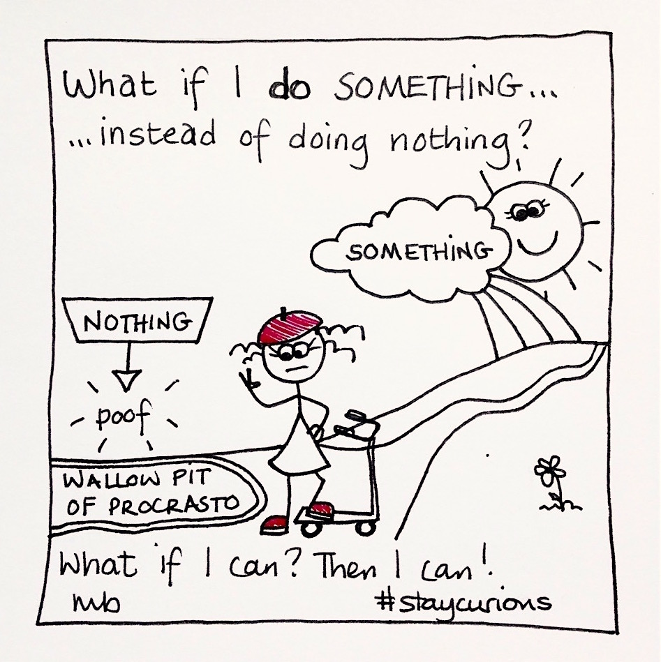 Mich Bondesio - Doodles - What if I do something, instead of doing nothing?