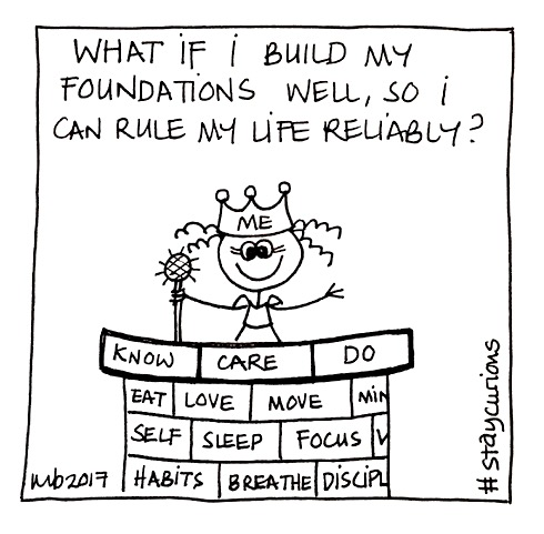 What if I build my foundations well, so I can rule my life reliably?