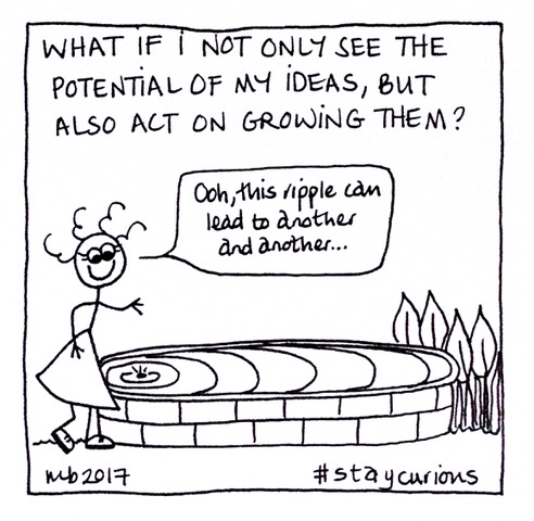 What if I not only see the potential of my ideas, but also act on growing them?