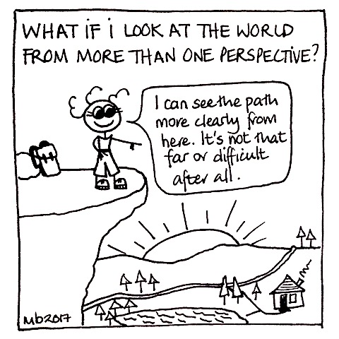 What if I look at the world from more than one perspective?